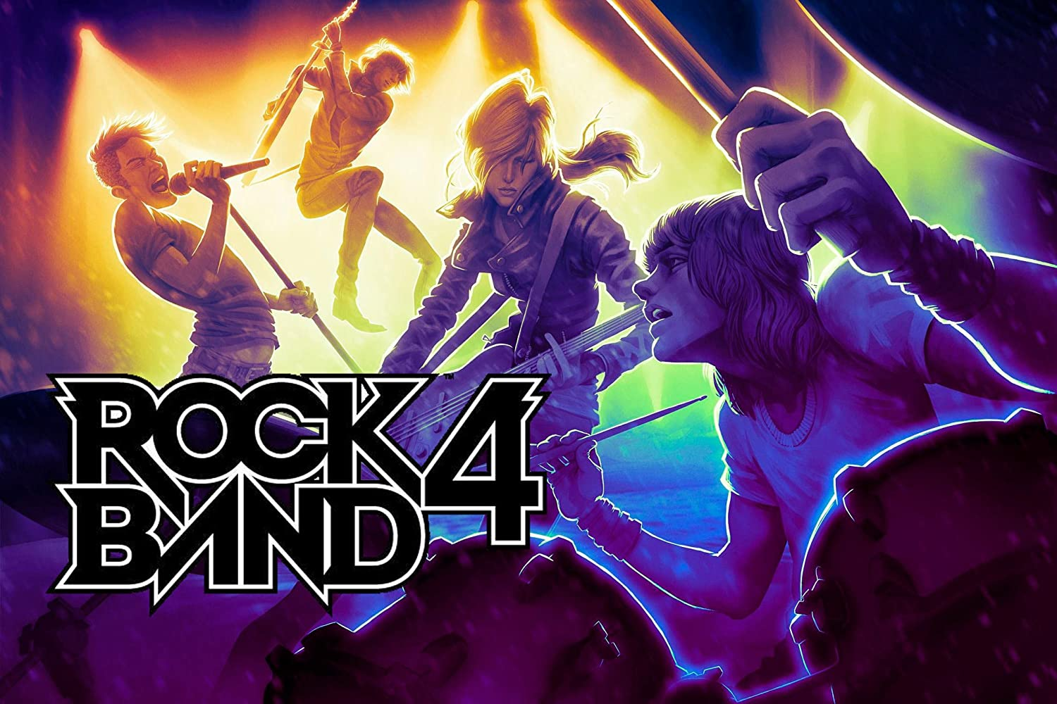 Rock Band 4 Band-In-A-Box PS4 Software Bundle [Importación Inglesa]: Amazon.es: Videojuegos