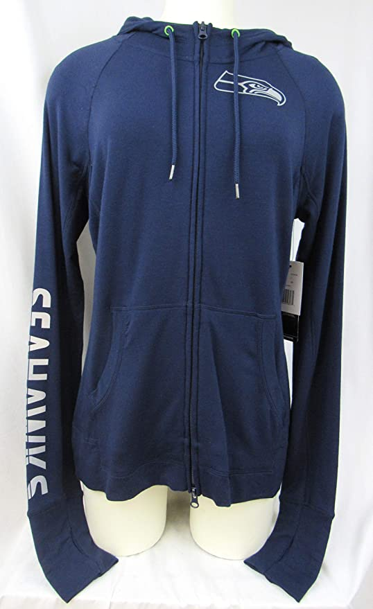 Touch by Alyssa Milano Seattle Seahawks Women s Size Small Active  Collection Full Zip Athletic Performance Hoodie 070742c04
