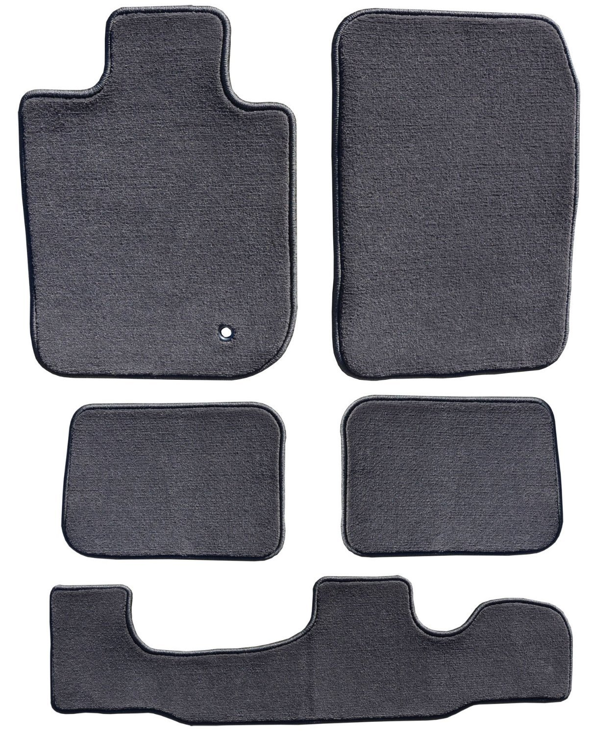 Passenger 2013 2016 Chrysler Town /& Country Charcoal Driver GGBAILEY D60297-LSA-CC-CHAR Custom Fit Car Mats for 2012 4 Piece Floor 2015 2nd /& 3rd Row 2014