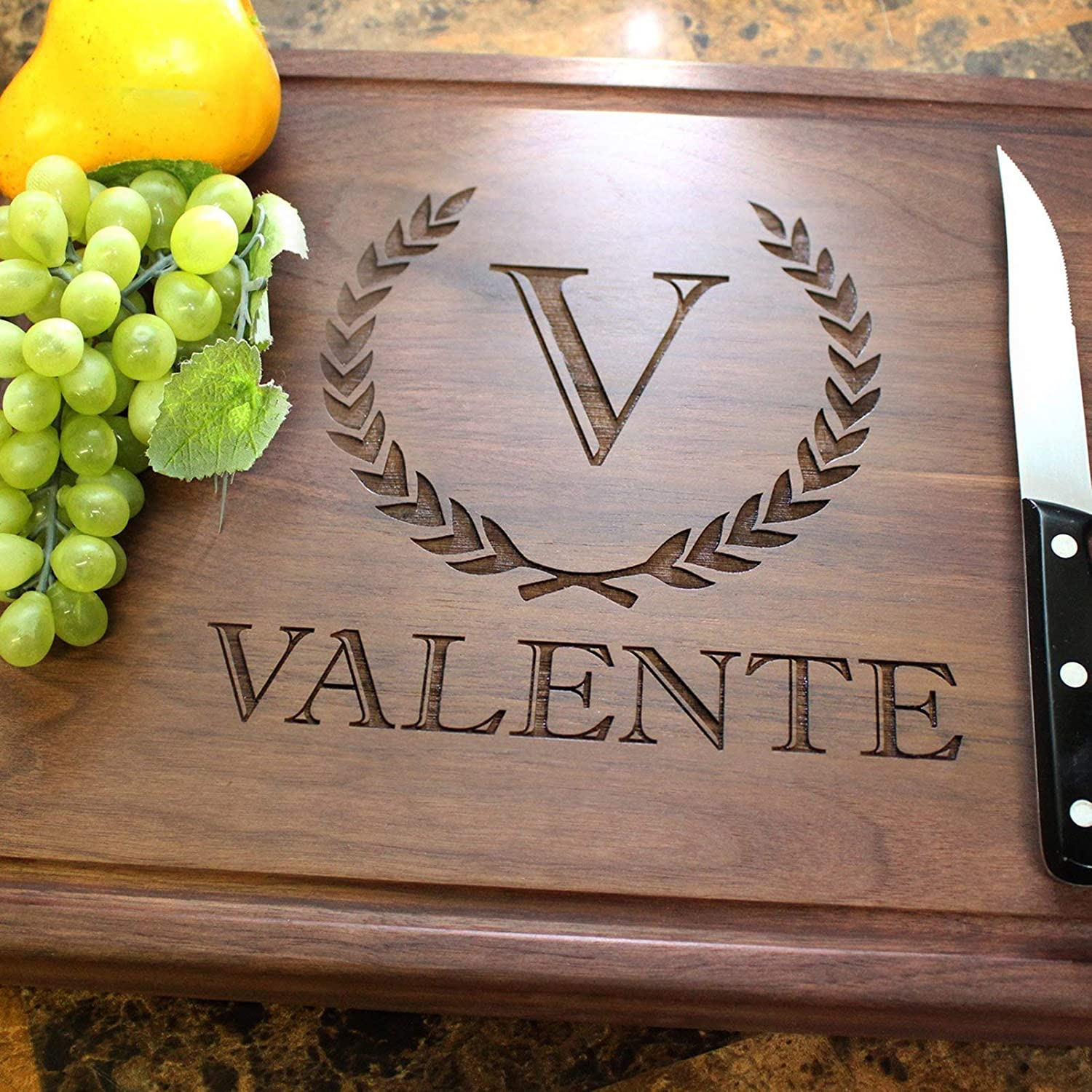 Bridesmaids/Groomsmen Personalized Engraved Chopping Block - Bridesmaid Gift, Groomsmen Gift, Wedding Gift, Bridal Party, Gift Ideas. #204