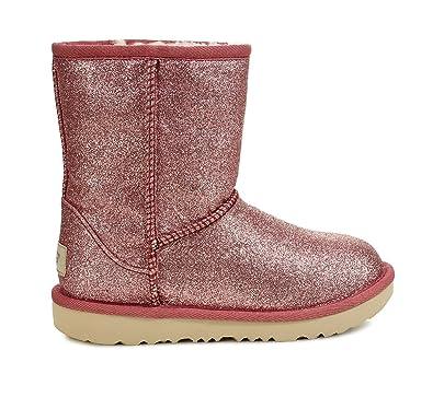 446e24eee65 Amazon.com | UGG Kids' T Classic Short Ii Glitter Fashion Boot | Boots