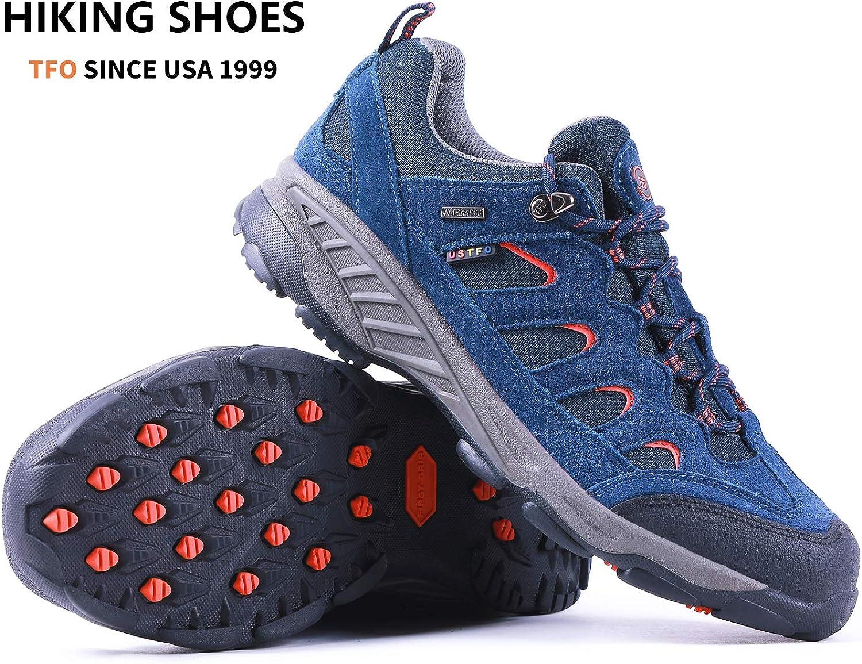 /Zapatos de Senderismo Transpirable y Resistente Low Rise Senderismo y Zapatos de Senderismo TFO al Aire Libre Womens/