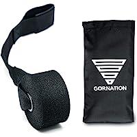 GORNATION® Tweelaagse premium weerstandsbanden met videocursus en tas - De fitnessband met praktisch weerstandsniveau in…