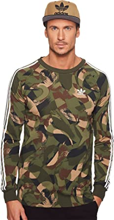 Men's Long 2 0 Skateboarding Adidas Sleeve Camo Tee Brushed Cali n0P8Okw