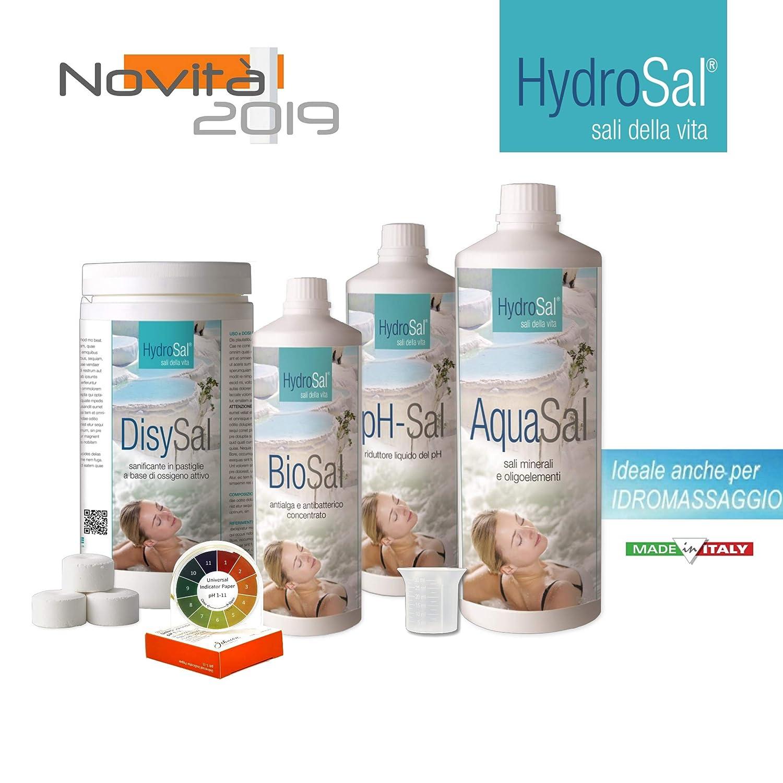 HYDROSAL Juego de Productos para Agua Termal y oxígeno Kit OXI ...