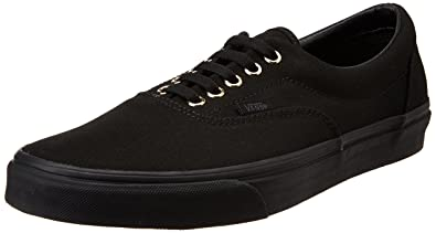 1cb54cf9ba0a Vans Men s Era Gold Mono Black Leather Sneakers - 10 UK  Buy Online ...
