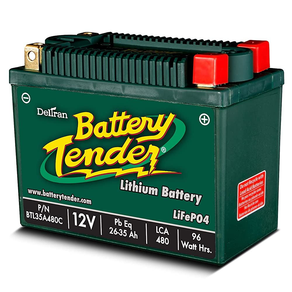Battery Tender BTL35A480C Lithium Iron Phosphate Battery Review