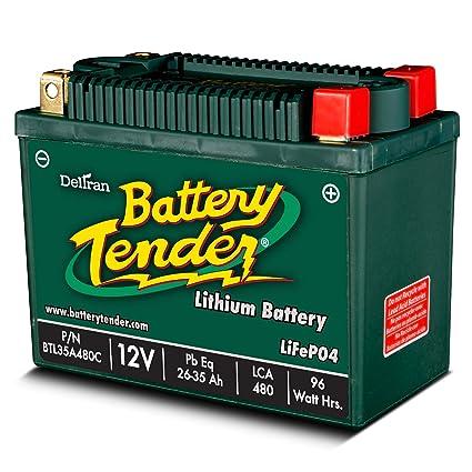 Amazon Com Battery Tender Btl35a480c Lithium Iron Phosphate Battery