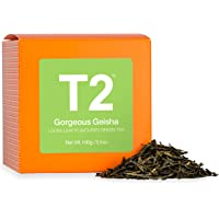 T2 Tea Gorgeous Geisha Loose Leaf Green Tea in Gift Cube 100 g, 1 x 100 g