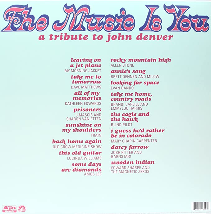 Various Artists The Music Is You A Tribute To John Denver