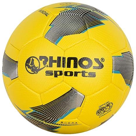 RHINOS sports balón de fútbol Mundial Gr, 5: Amazon.es: Deportes y ...