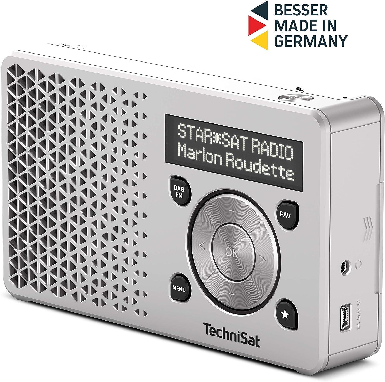 TechniSat Digit - Radio (Portátil, Digital, Dab+,FM, 18,18-18 MHz, 18-18  MHz, Exploración automática)