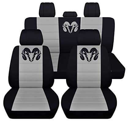 Amazon Com Fits 2012 To 2018 Dodge Ram Front And Rear Ram Seat