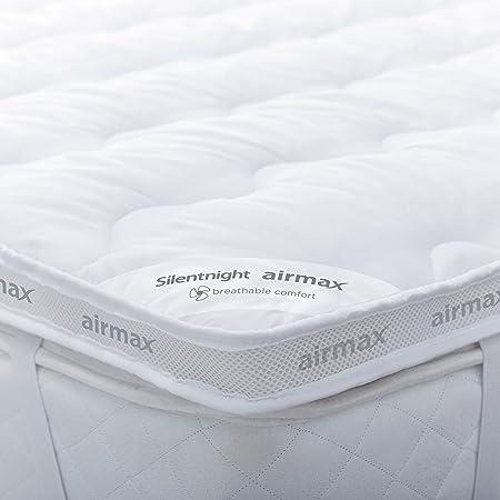 Silentnight Airmax Mattress Topper White Double Amazoncouk