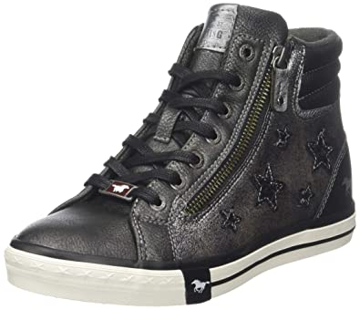 new product 444bc 2d96b Mustang Damen High Top Hohe Sneaker