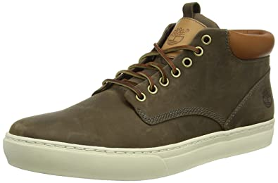Timberland Earthkeepers Cupsole Chukka Mens Leather Desert Boots-Olive-7 d5df3f723