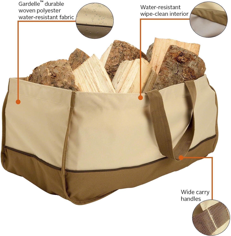 Classic Accessories Veranda Water-Resistant 9 Inch Jumbo Log Tote