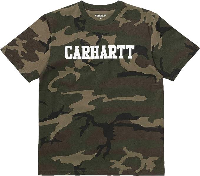 Carhartt S/S College Camiseta Hombre: Amazon.es: Ropa y accesorios