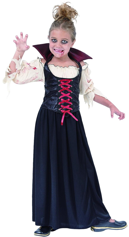 Generique - Disfraz de vampiresa para niña: Amazon.es: Juguetes y ...