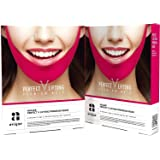 Avajar Perfect V Lifting Premium Anti-Celluite Mask for Facial firming treatment, Tight face & Neck line, 10 Count