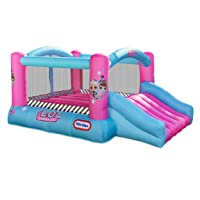 Deals on L.O.L. Surprise Jump n Slide Inflatable Bounce House w/Blower