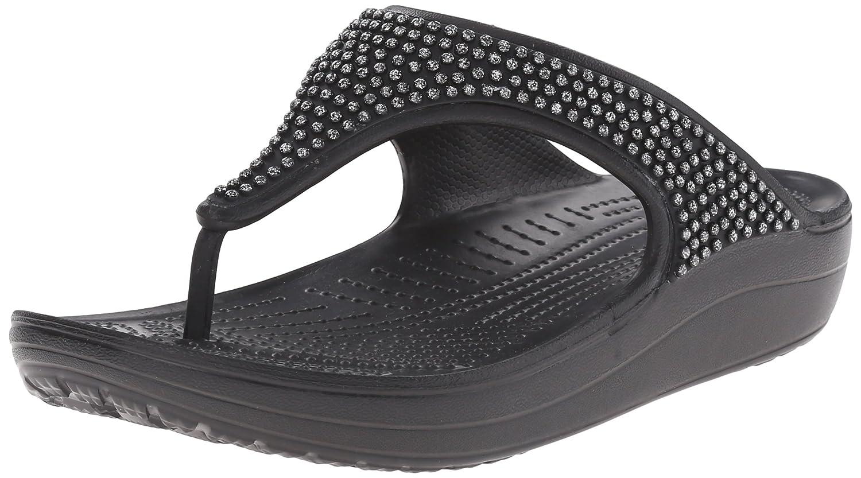 Crocs Damen Sloane Embellished Sandalen Flipflops