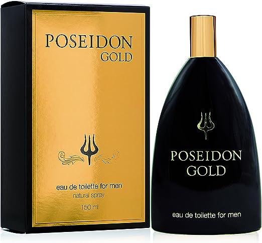Poseidon Gold Eau de Toilette para Hombre - 150 ML: Amazon.es: Belleza
