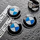 Yiteng BMW エンブレム 82mm 青 白 ブルー 汎用品