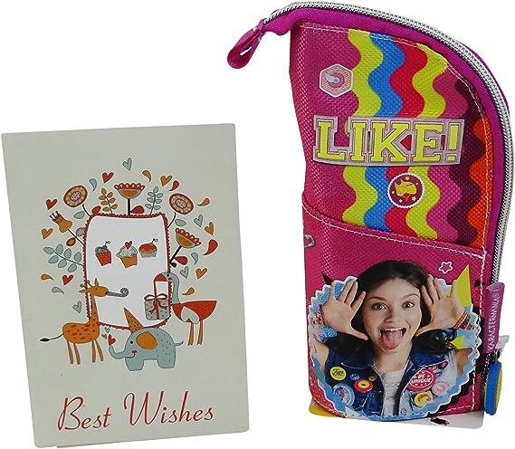 Disney Soy Luna Smile Estuche para Lapices Plumas: Amazon.es: Equipaje