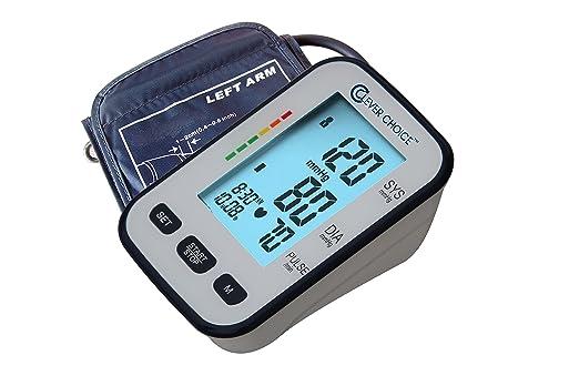 Amazon.com: CLEVER CHOICE FULLY AUTO ARM BP MONITOR SDI-1986A: Health & Personal Care