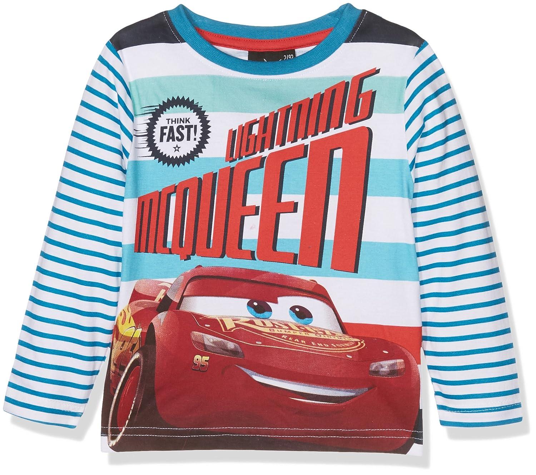 Leomil Fashion -Camiseta de Manga Larga Niños (Petrol/White 049 ...