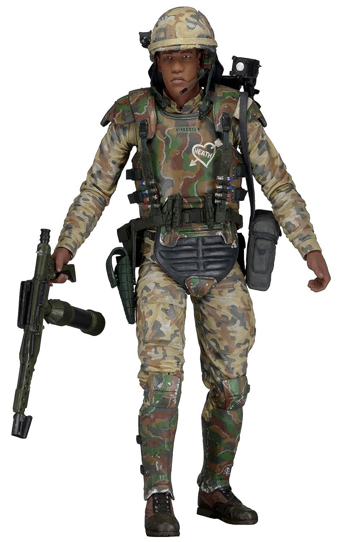 ネカ エイリアン 7インチ アクションフィギュア シリーズ9 リッコフロスト / NECA ALIENS PRIVATE RICCO FROST 【並行輸入版】 海兵隊員 B01L9GYIWY