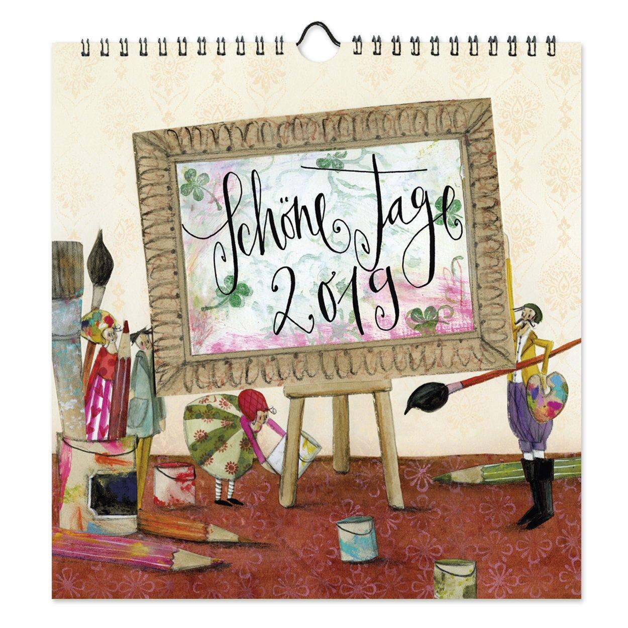 Kalender 2019 'Schöne Tage', Silke Leffler, Grätz Verlag Kalender – 1. Juni 2018 Grätz Verlag 3946861261 Kalender / Zeitplansysteme Zeitplansysteme / Kalender