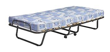 Amazon Com Linon 358roma 01 As U Folding Bed Roma Twin Blue And