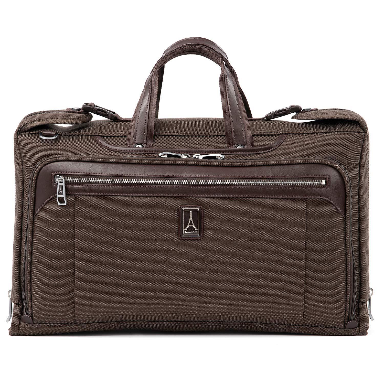 Travelpro Luggage Platinum Elite 20'' Carry-on Tri-Fold Garment Bag, Rich Espresso