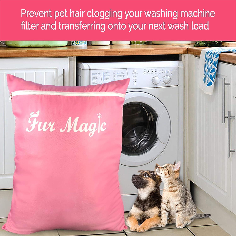 Large/&Extra Large Pets Laundry Bag Hair Filter Washing Machine  Wash Bag Dog//Cat