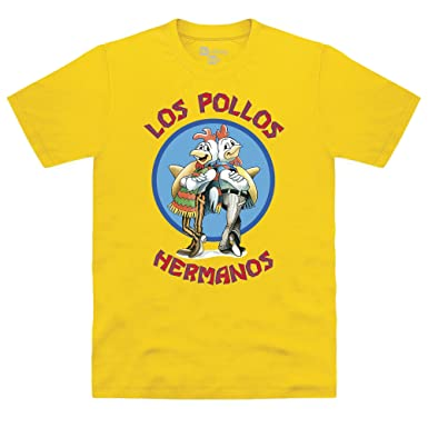 5d1cc9a4 Official Breaking Bad - Los Pollos Hermanos T Shirt, Male: Amazon.co.uk:  Clothing