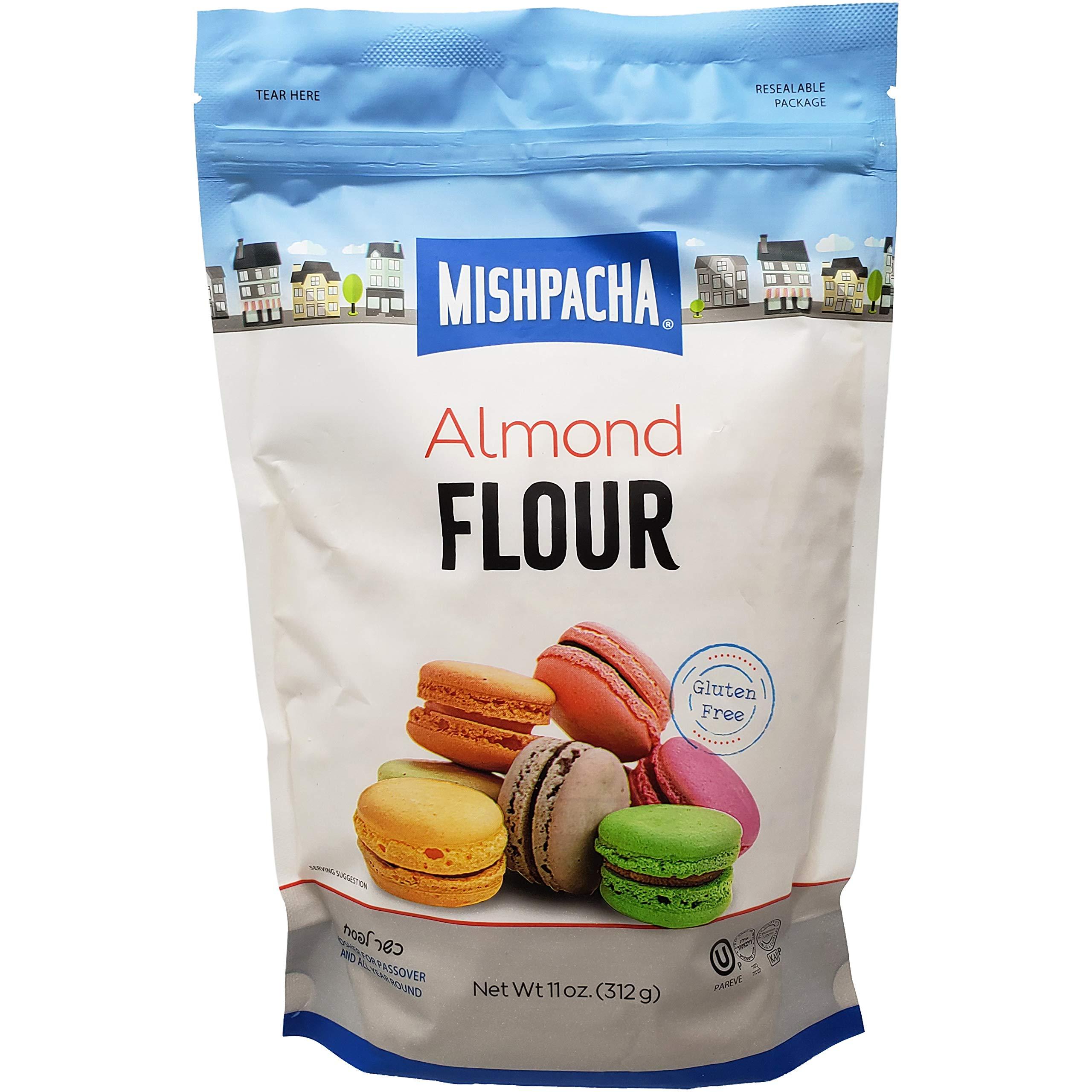 Mishpacha Almond Flour Bag, Kosher For Passover, Gluten-Free, 11 Ounce Bag (Single)