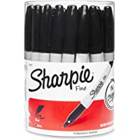 Sharpie Fine Point Permanent Marker Canister with 36 Pens