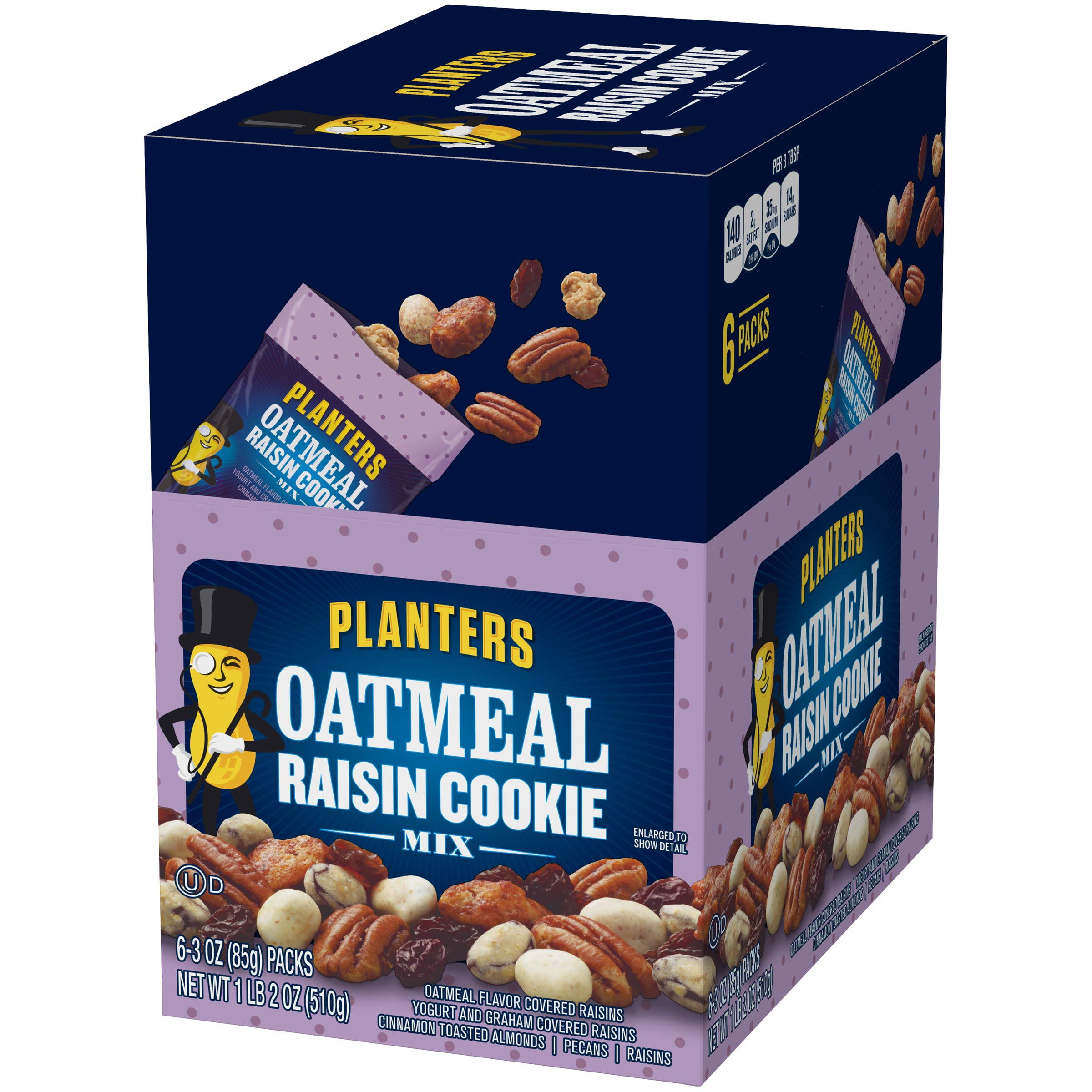 Amazon.com : Planters Oatmeal Raisin Cookie Mix, 3.0 Ounce (Pack of on amazon home, amazon hammocks, amazon fire pits, amazon wall art, amazon lamps,