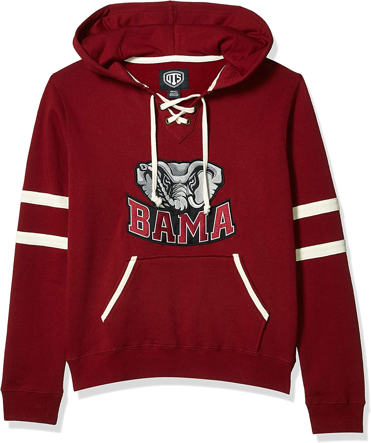 NCAA Mens OTS Grant Lace Up Pullover Hoodie