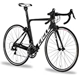 Eagle Z-Series Carbon Aero Road Bike - Made with Japanese 700-Series Lightweight Carbon Fiber with Shimano 105/Ultegra/Di2 Components