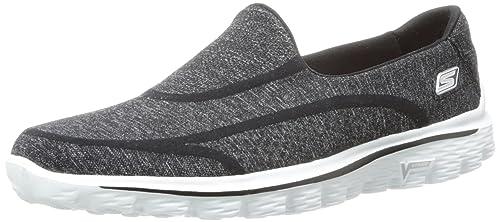 2de4b3f3cfe69 Skechers Women's Gowalk 2 Super Sock Trainers: Amazon.co.uk: Shoes ...