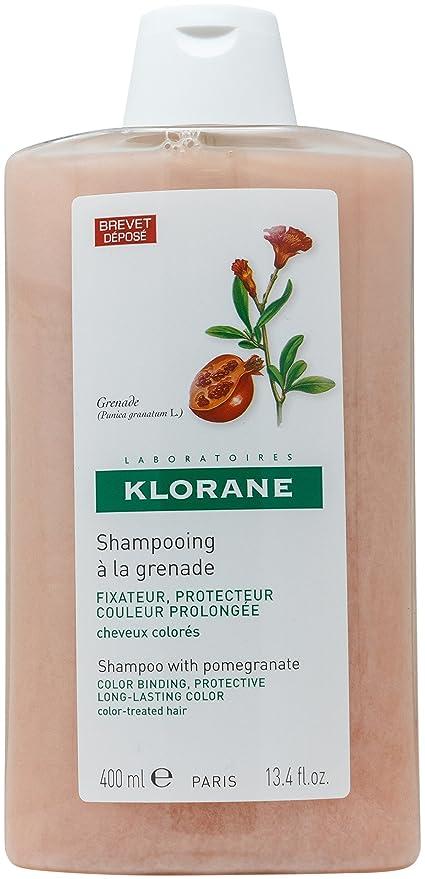KLORANE - KLORANE Champú a la Granada para Cabellos con Color 400 ml