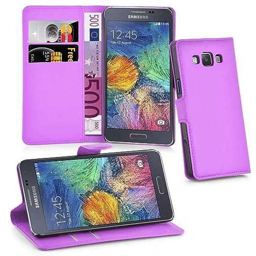 2 opinioni per Cadorabo – Custodia Book Style Design Portafoglio per Samsung Galaxy A7 (5)