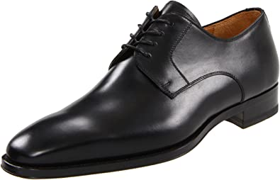 Magnanni Men's Colo Catania Black Lace-Up Oxford shoes - 7 D(M)