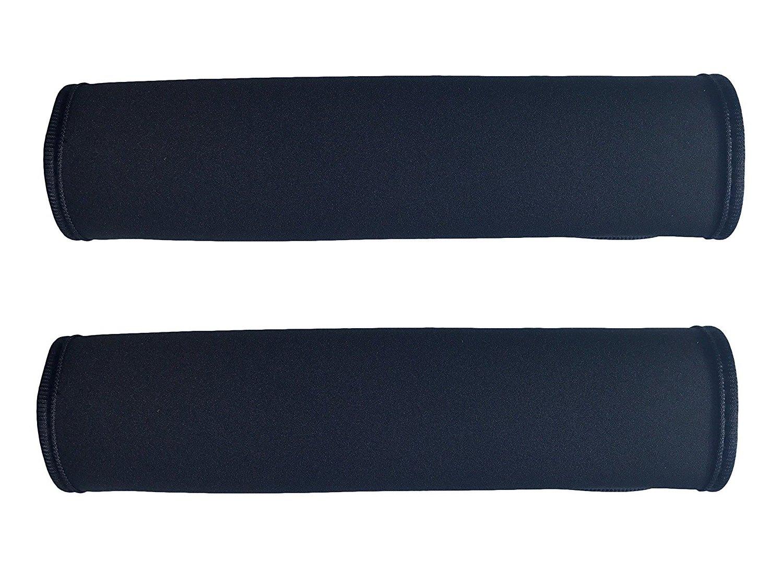 HECKBO 1x Schwarzer Auto Sicherheitsgurt Schulterpolster Schulterkissen Autositze Gurtpolster Gurtschutz f/ür Kinder und Erwachsene