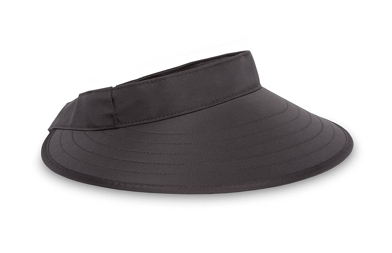One Size Sunday Afternoons Adult Sport Visor Black