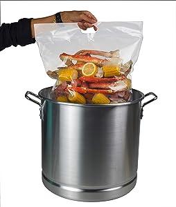 Jesdit Seafood Boil Bag (Pack of 5) Large