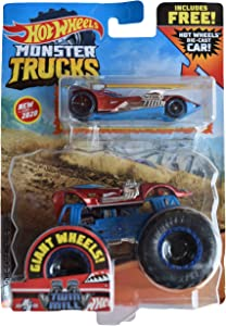 Hot Wheels Monster Trucks 1:64 Scale Twin Mill, Includes Hot Wheels Die Cast Car